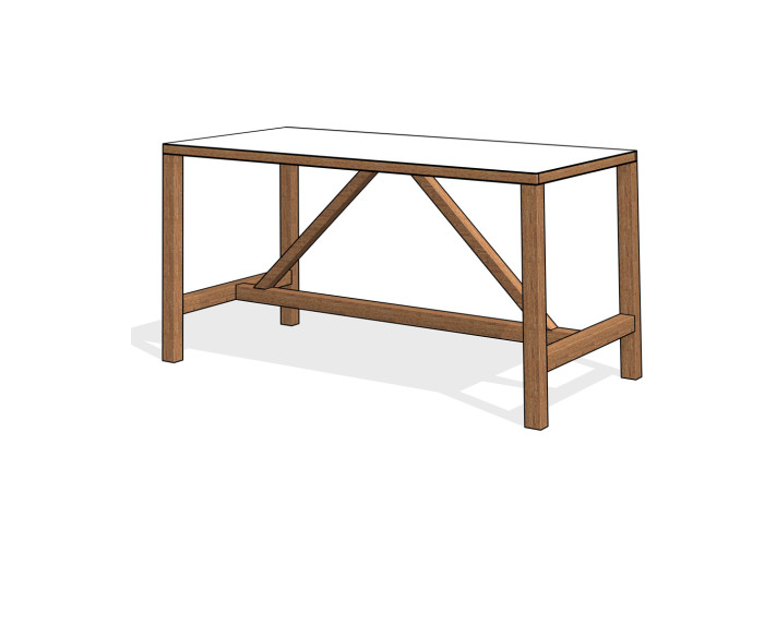 BIM-James_Burleigh-Bosa_Table_High-Revit-BIMBox