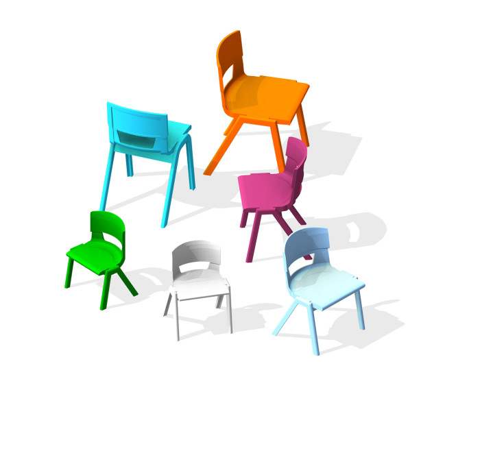 BIM-KI-Postura+-Chair-Revit-BIMBox