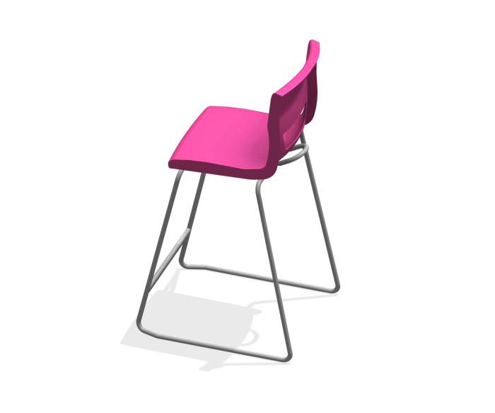 BIM-KI-Postura+-High_Chair-Revit-BIMBox