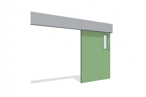 BIM-Dortek_Single_Slider_Green-BIMBox
