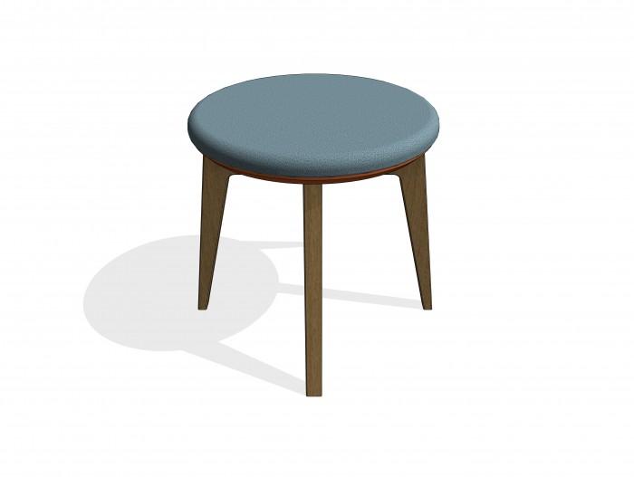 bim-knightsbridge_furniture-gogo_circular-stool-revit-bimbox