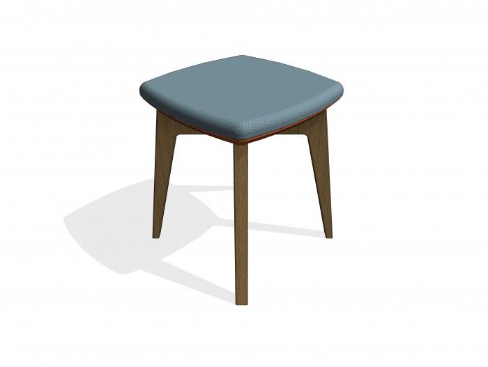bim-knightsbridge_furniture-gogo_square-stool-revit-bimbox