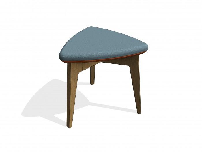 bim-knightsbridge_furniture-gogo_trilobe-stool-revit-bimbox