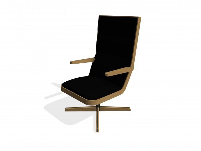 bim-knightsbridge_furniture-spekta_armchair_swivel-revit-bimbox