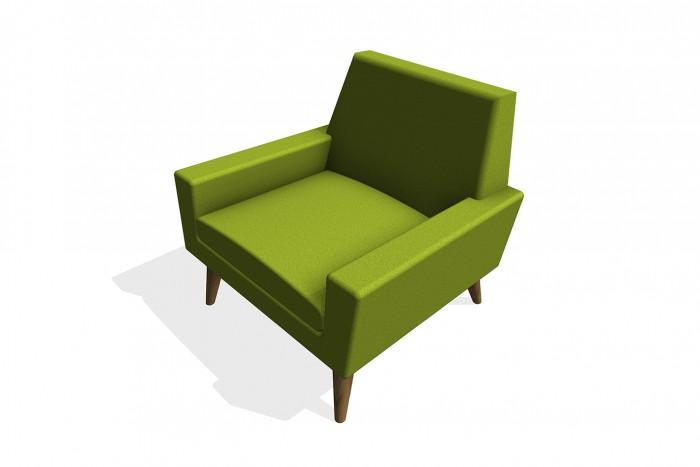BIM-Assemblyroom-Finsbury-Armchair-Green-Revit-BIMBox