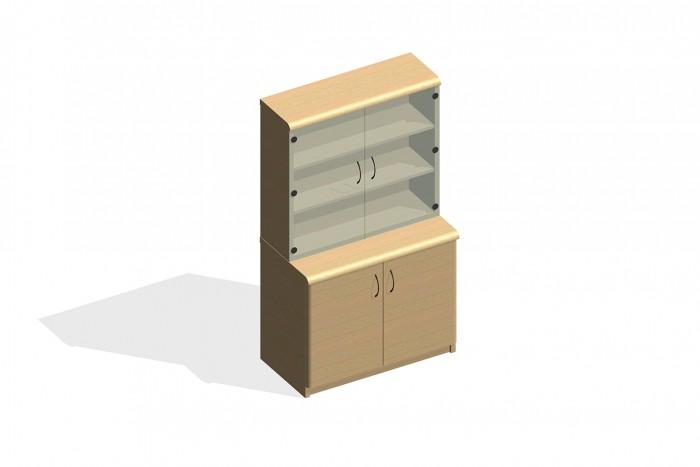 BIM-Verco-Corniche-Bookcase-Revit-BIMBox