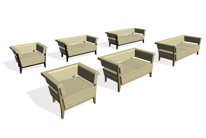 BIM-BossDesign-Arlington-Chair-Sofa-Revit-BIMBox